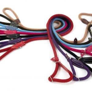 rope figure-8 slip lead