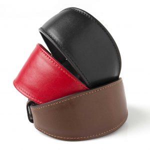 """Greyhound Leather Dog Collar"""