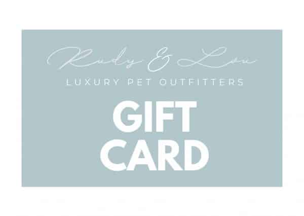 rudy and lou gift card
